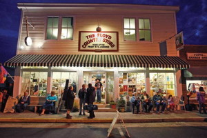 The Floyd Country Store is one of a number of downtown Floyd attractions